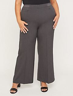 Wide Leg Refined Pant