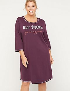 Dear Weekend Cotton Sleepshirt