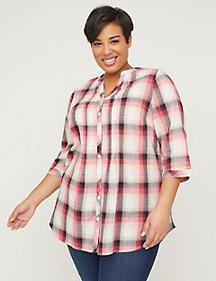 7d27faba Plus Size Shirts & Blouses | Catherines