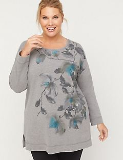 Floral Whisper Sweatshirt