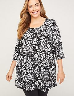 Somerset Floral Easy Tee Tunic