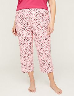 Classic Cotton Sleep Capri Pant