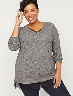 ComfySoft Lace Duet Top