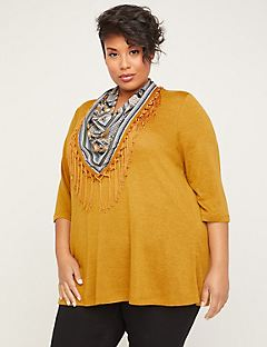 ComfySoft Sunshine Duet Scarf Top