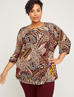 Paisley Horizon Top
