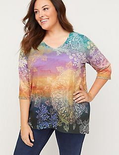 Medallion Sunset Top