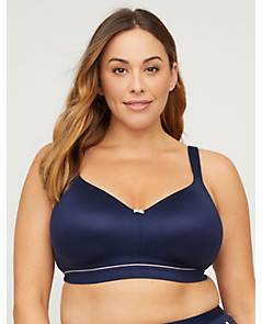 4c3a65368ed image of Full-Coverage Smooth No-Wire Bra with Bow with sku 318588