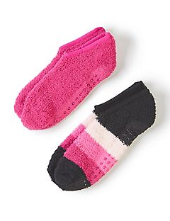 Ankle Slipper Socks 2-Pack