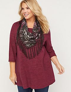 ComfySoft Duet Scarf Top