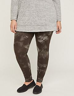 Abstract Active Legging