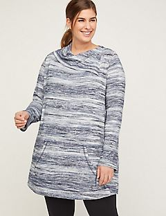 ComfySoft Stormy Stripe Tunic