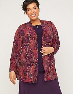 AnyWear Paisley Sunset Overpiece