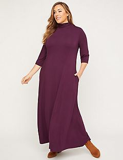 Greenpoint Maxi Dress (with Pockets)