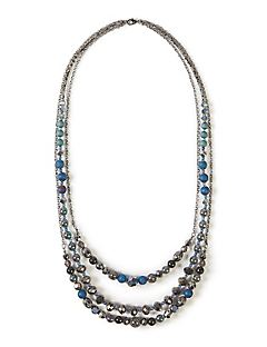 Crystal Lake Layered Necklace