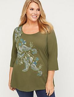 Canyon Sparkle Paisley Top