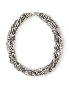 Silver Well Necklace