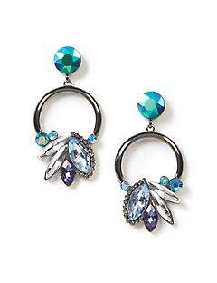 Glacier Peak Drop Earrings
