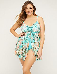 Flyaway Tropical Swimdress