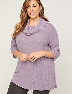 ComfySoft Cowlneck Swing Top