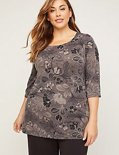 AnyWear Floral Everyday Tunic