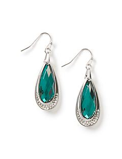 Pine Teardrop Earrings