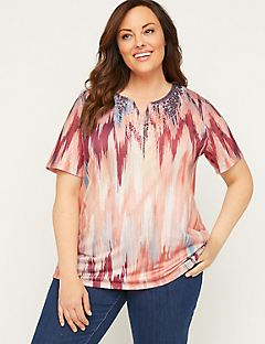 Horizon Embroidered Top