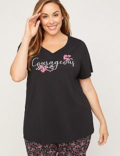 Courageous Cotton Sleep Tee