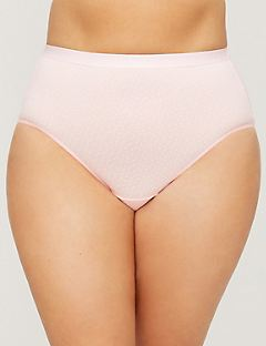 Cotton Hi-Cut Brief Panty