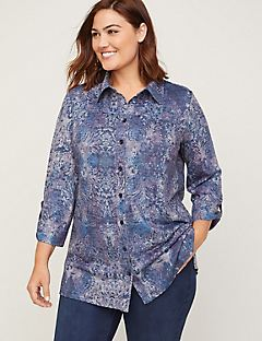 ComfySoft Dream Buttonfront Tunic