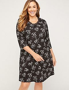 Floral Cotton Sleepshirt