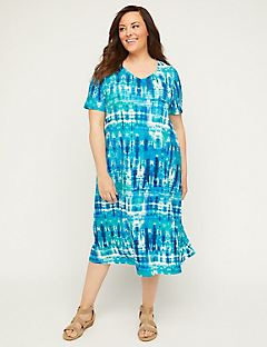 Isle of Skye A-Line Dress