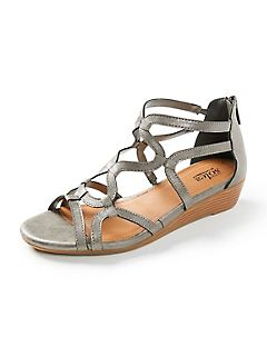 Good Soles Strappy Wedge Sandal