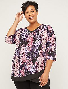 Garden Tulip Tunic Top