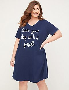Start Your Day With A Smile Sleepshirt