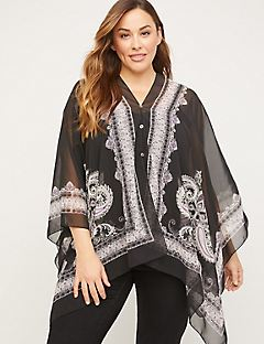 Multiway Poncho Overpiece