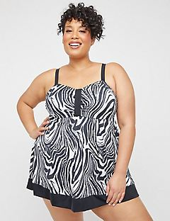 Safari Swirl Swimdress