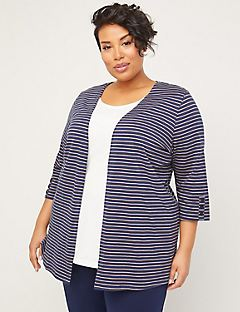 Suprema Striped Cardigan