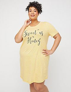 Sweet as Honey Cotton Sleepshirt
