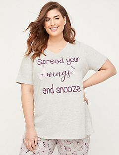 Butterfly Blush Sleep Tee