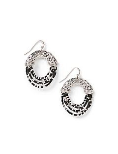 Shadow Shimmer Drop Earrings