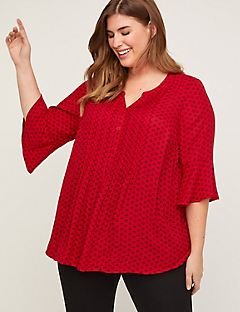 East Ridge Georgette Top