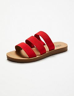 Good Soles Stretch Slide Sandal