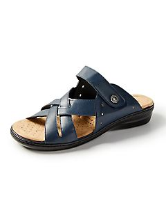 Good Soles Crisscross Slide Sandal