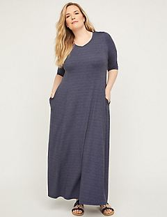Dorchester Maxi Dress with Pockets