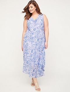 Canyon Lake Paisley Dress