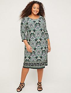Paisley Grove Shift Dress