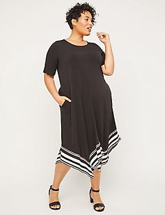 Stoneywood Stripe A-Line Dress (With Pockets)