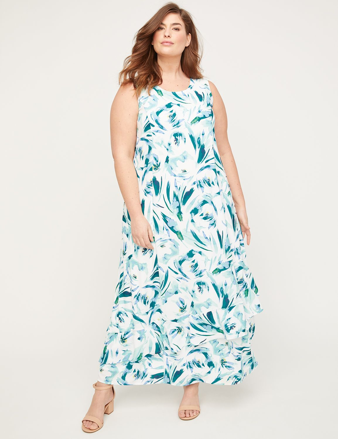 Black Label Floral Rush Maxi Dress