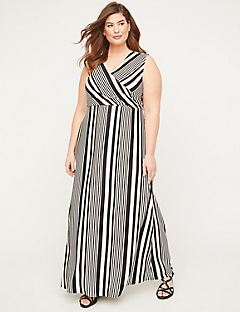 Desert Springs Wrap Maxi Dress