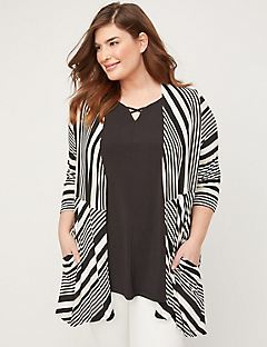 Sand Striped Overpiece